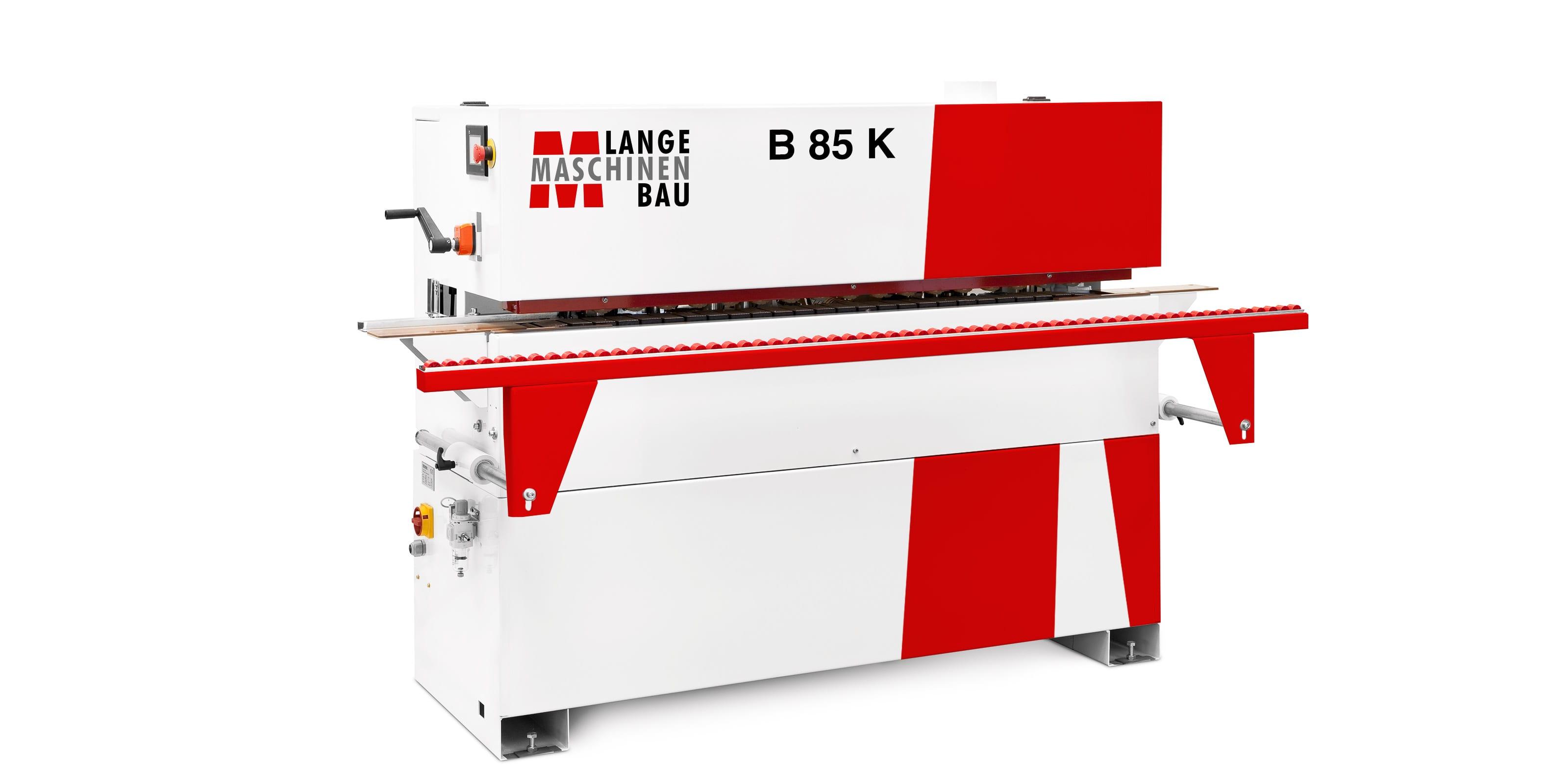 B85K Lange Kantenanleimmaschine Slider