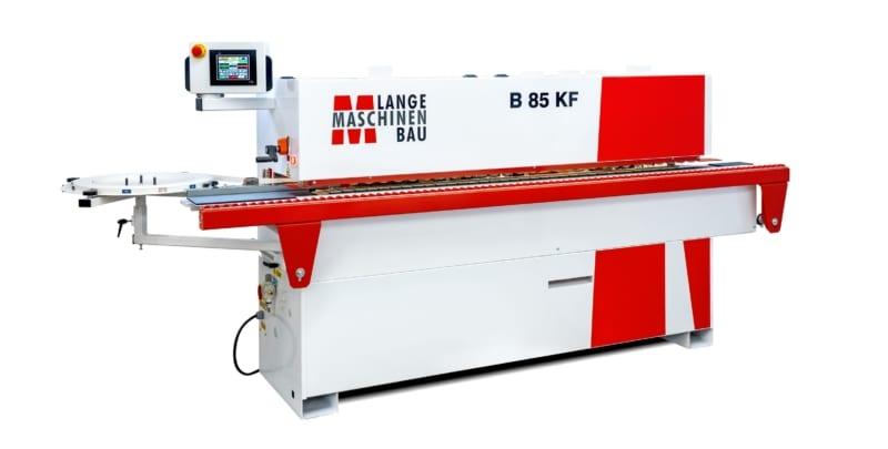 B85KF Lange Kantenanleimmaschine Slider