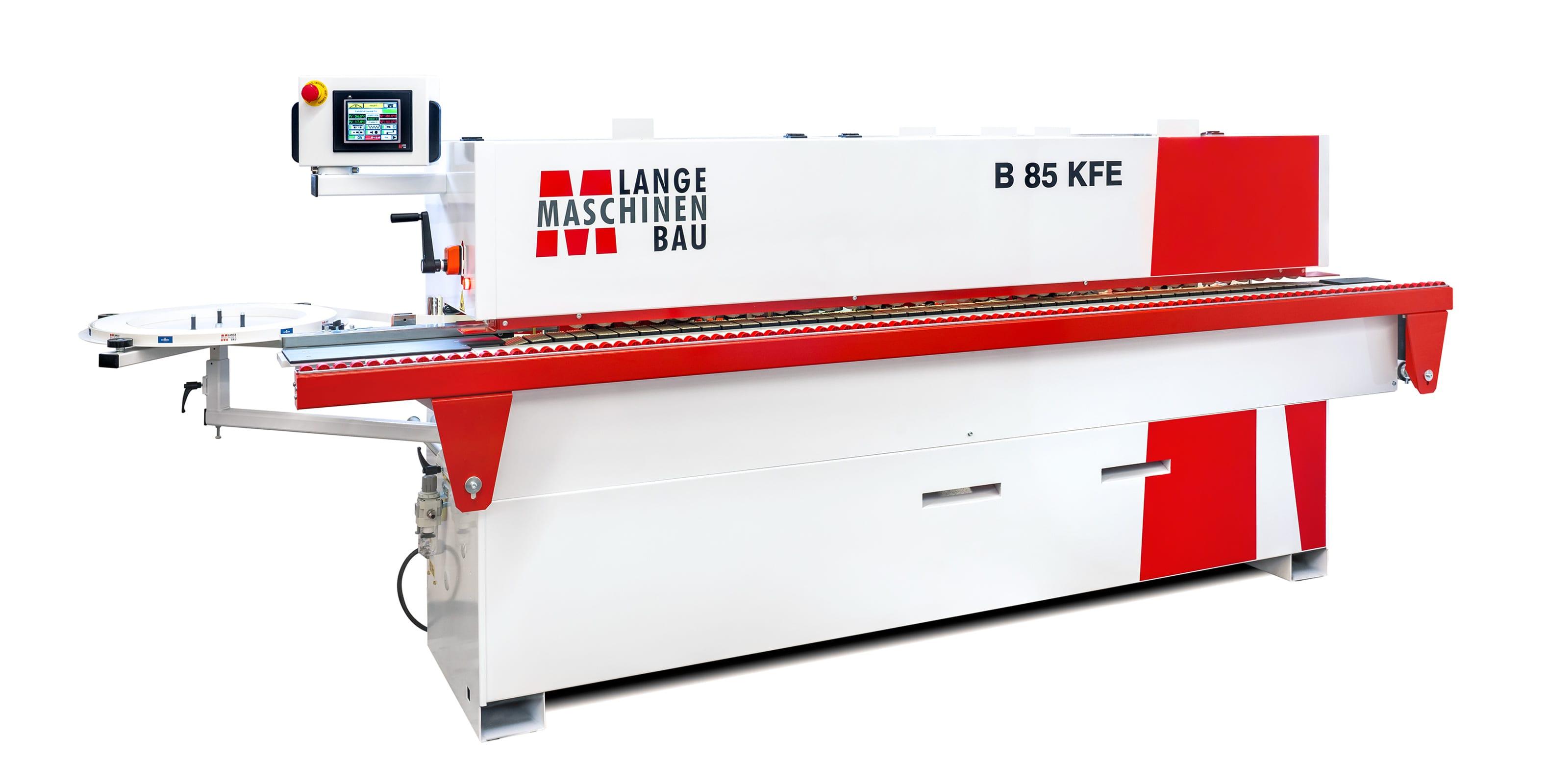 B85KFE Lange Kantenanleimmaschine Slider