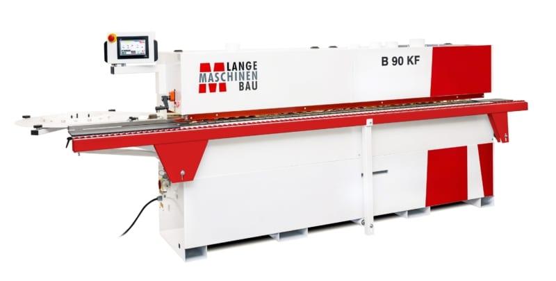 B90KF Lange Kantenanleimmaschine Slider