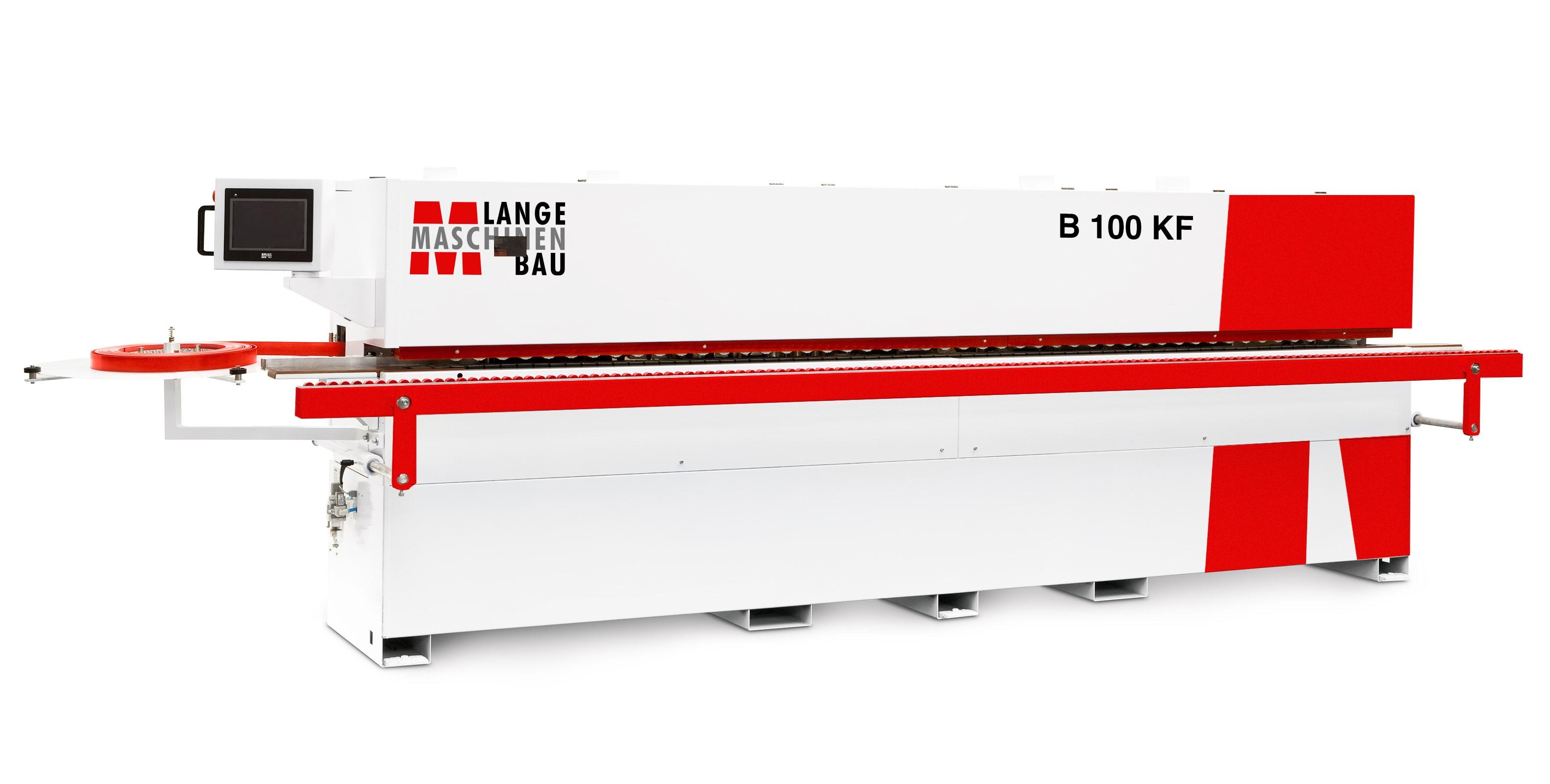 B100KF Lange Kantenanleimmaschine Slider