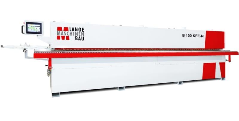 B100KFE N Lange Kantenanleimmaschine Slider