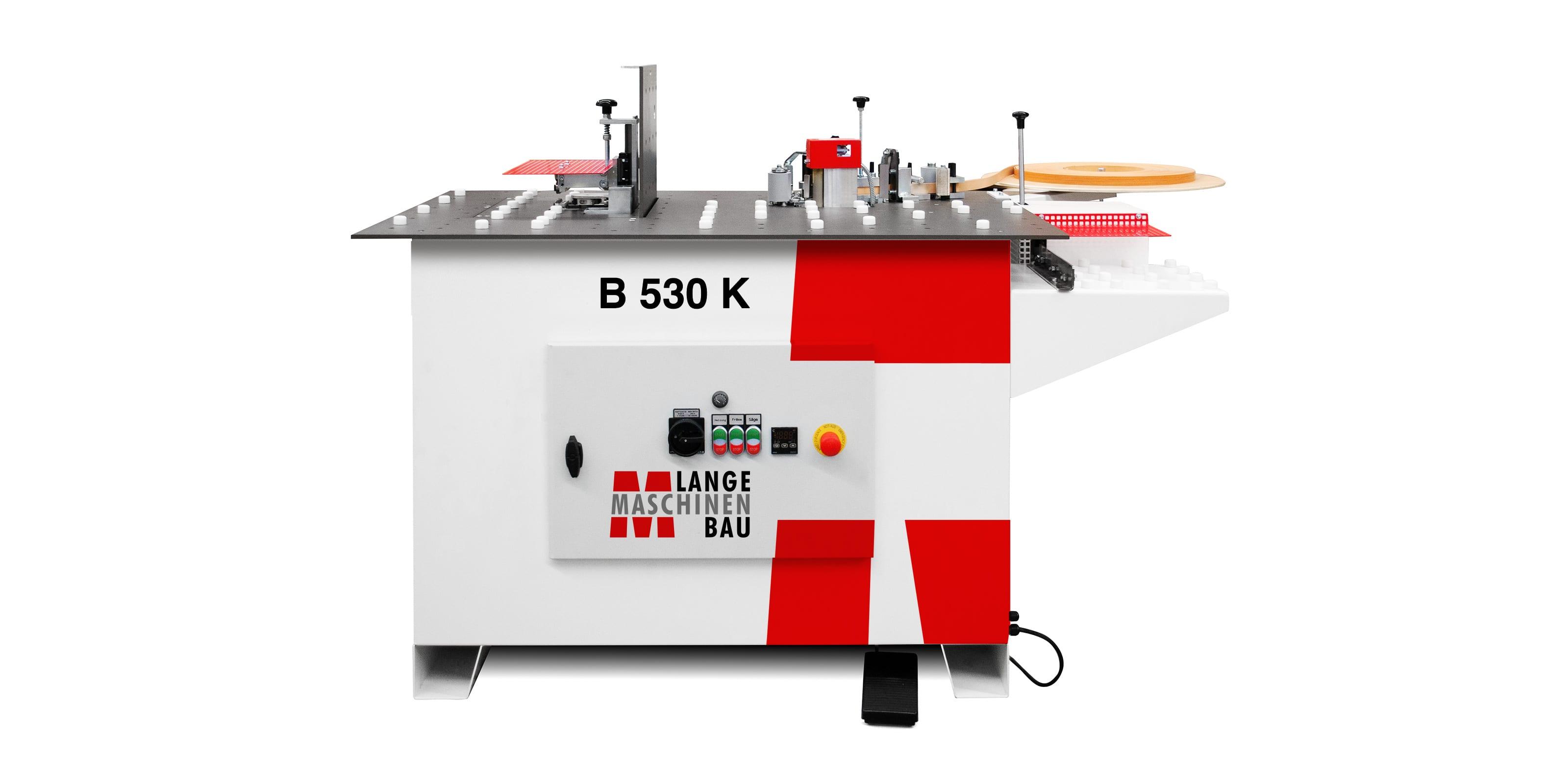 B530K Lange Kantenanleimmaschine Slider