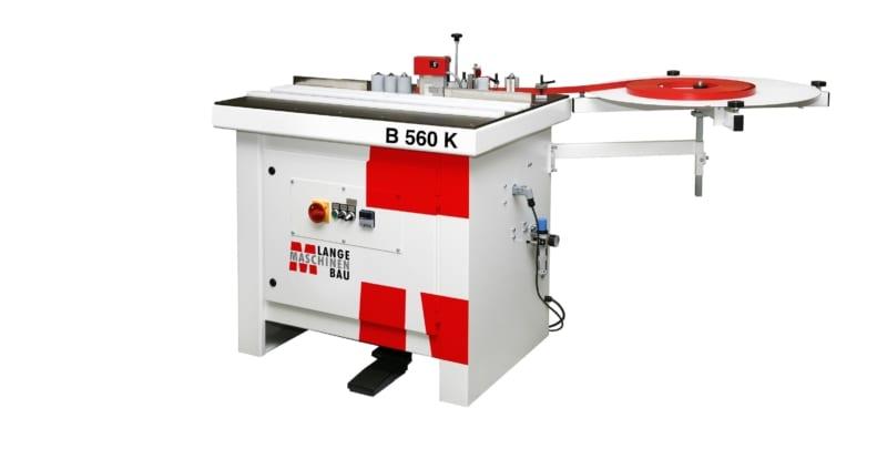 B560K Lange Kantenanleimmaschine Slider