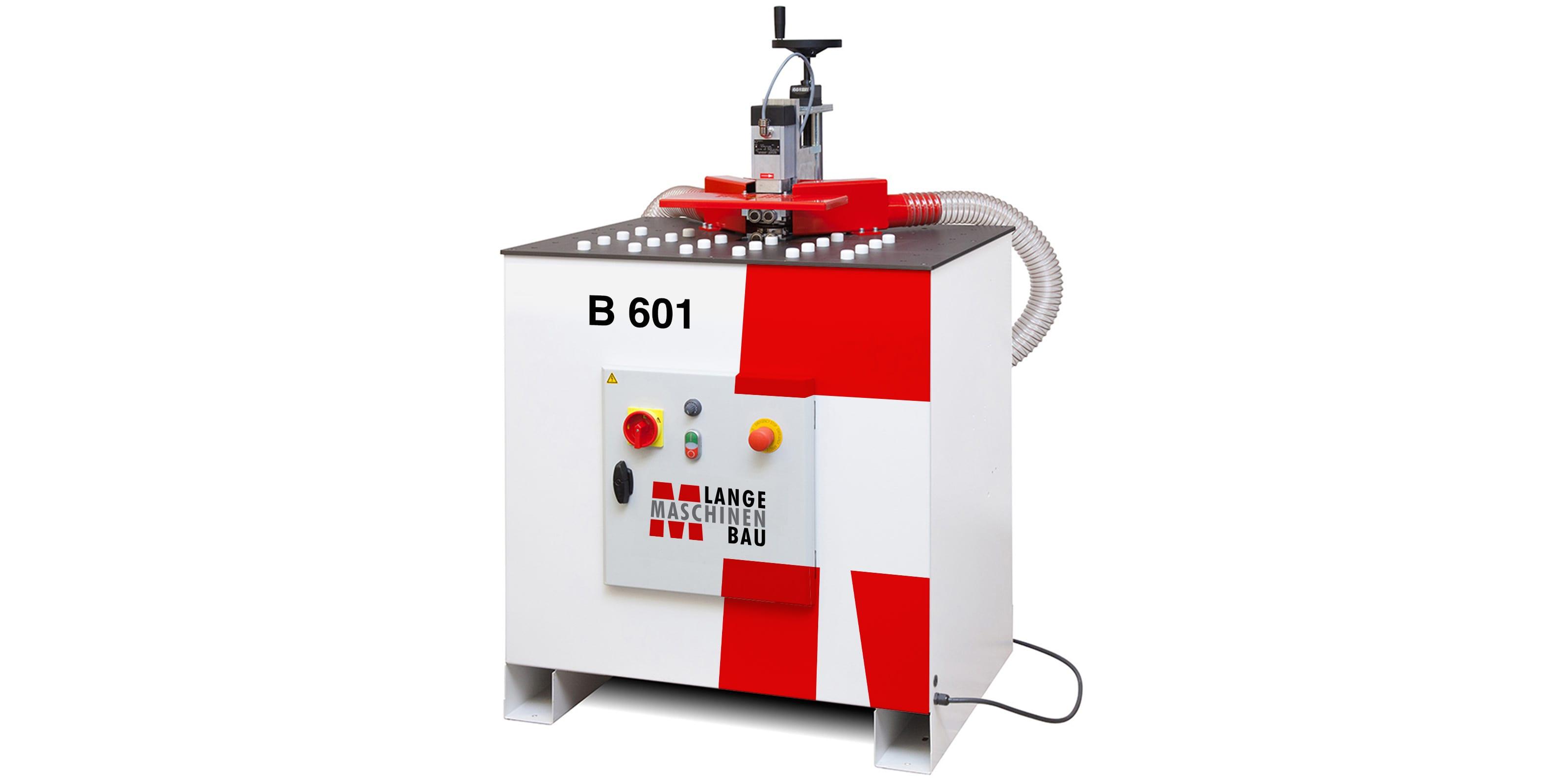 B601 Lange Kantenanleimmaschine Slider