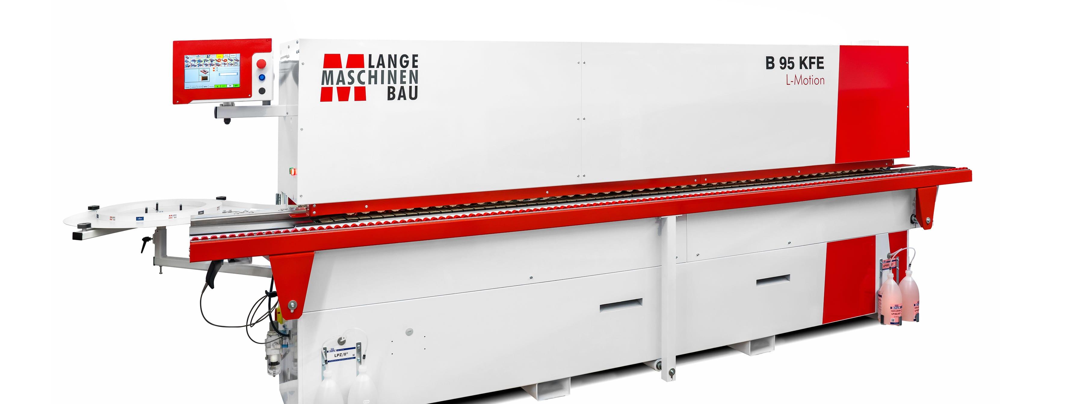 slide B95KFE Kantenanleimmaschine Lange Maschinenbau